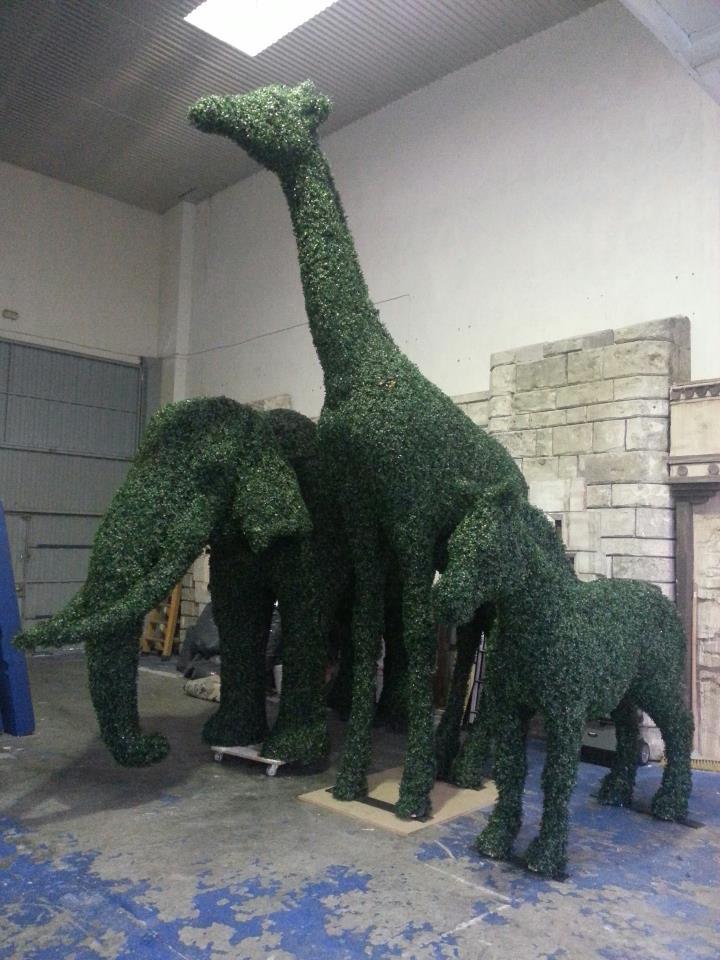 Figuras Topiary Artificial a tamaño real