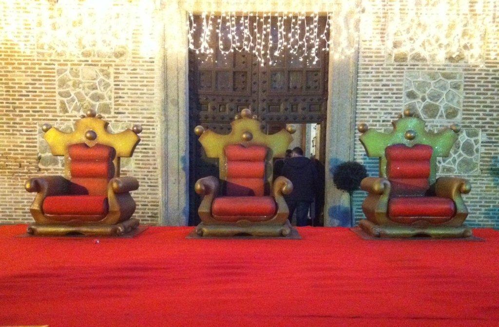 tronos reyes magos