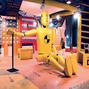 ficticio crash test dummy