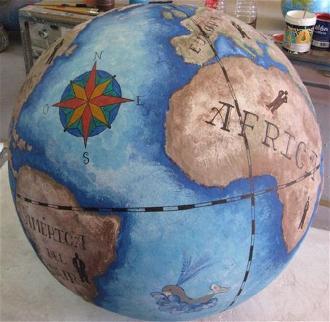 ficticio esferas-tierra
