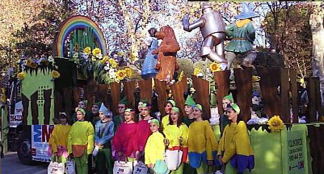 carroza El Mago de Oz 2