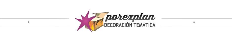 POREXPLAN ESTUDIO-TALLER DE ESCULTURA, DECORADOS Y TEMATIZACIN