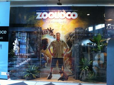 escaparatismo zooloco-kinepolis